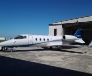 Lear Jet 60 Chips Custom Painting